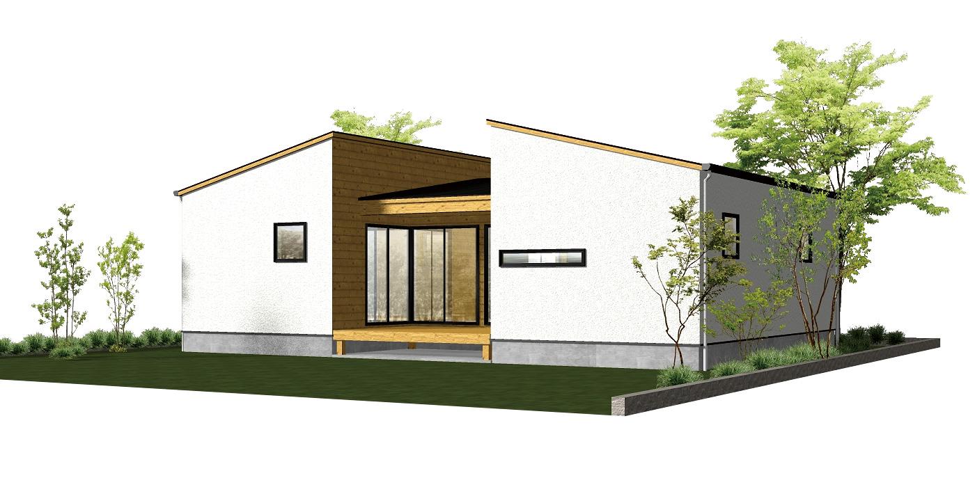 8cago COURT HOUSE (75.99㎡+デッキ9.94㎡)